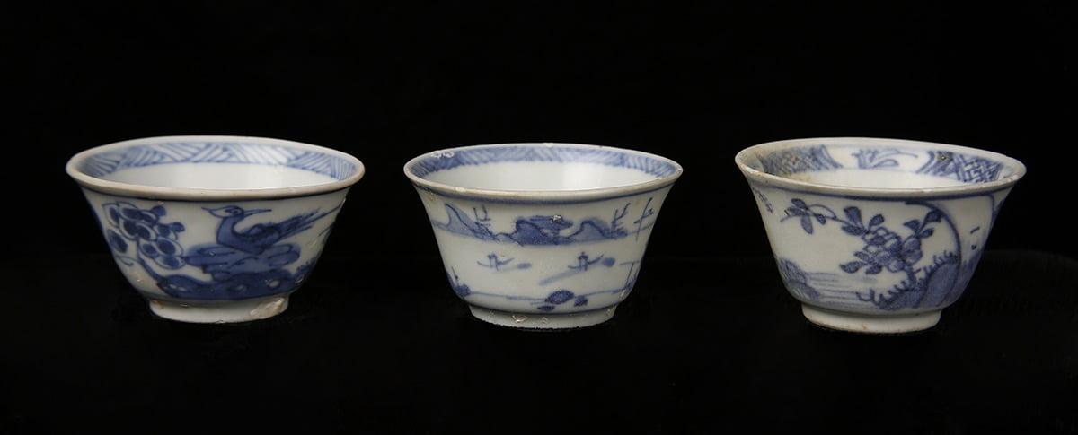 Cau Mau shipwreck pottery bowls