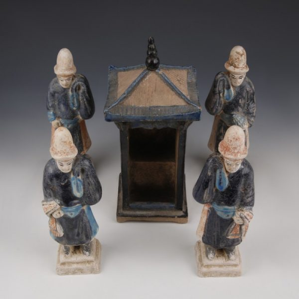 Processional Set of Ming Attendants
