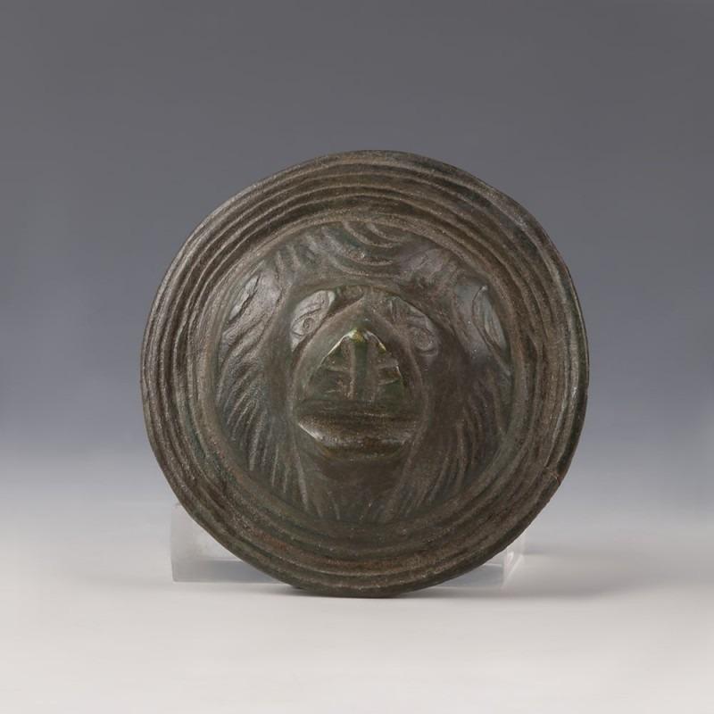Bronze Lion Appliqué