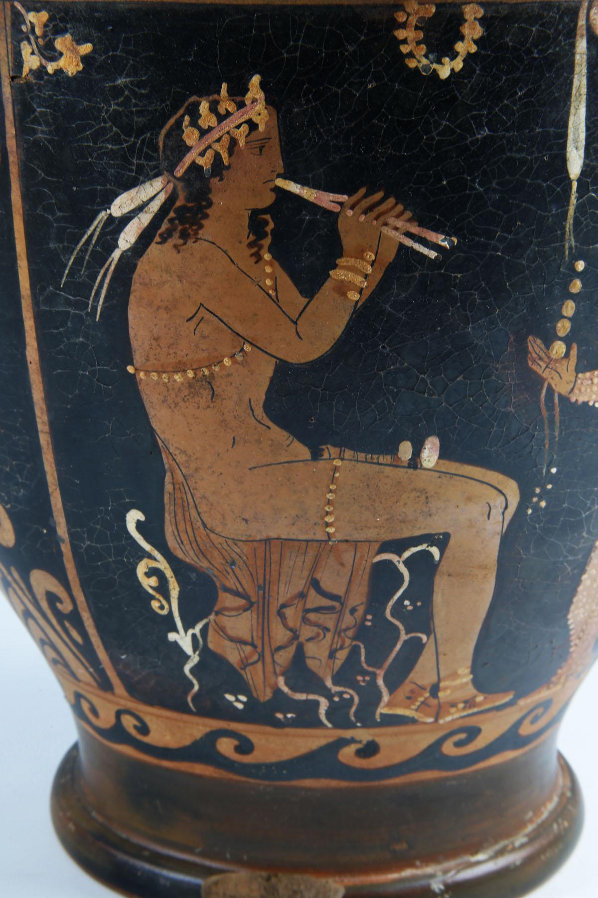 Dionysian Greek Skyphos