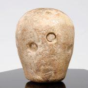 Western Asiatic Sumerian Alabaster Macehead