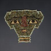 Beaded Egyptian Mummy Mask