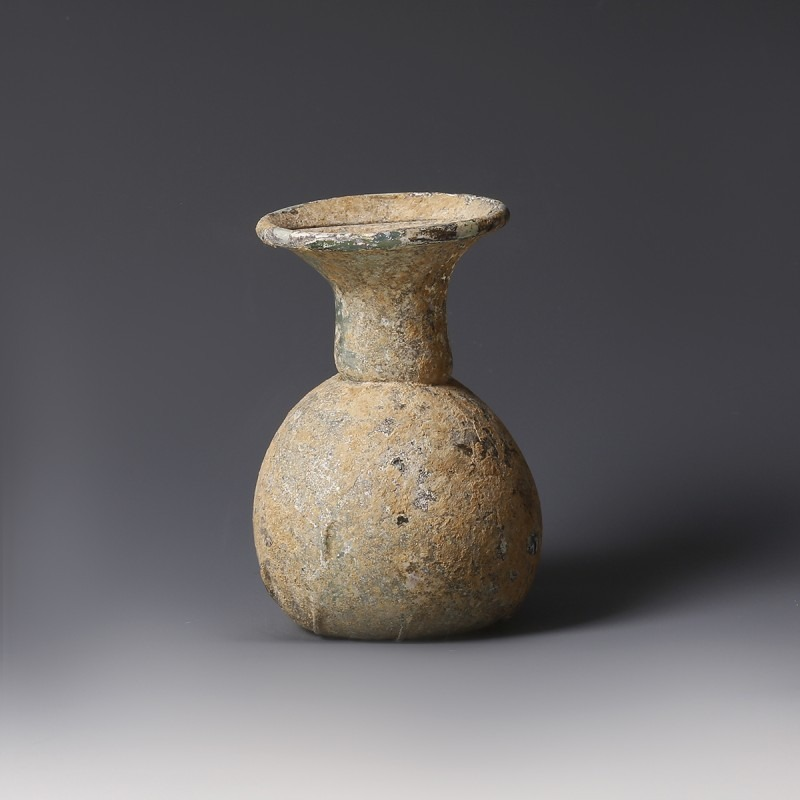 Roman Glass Dropper Flask
