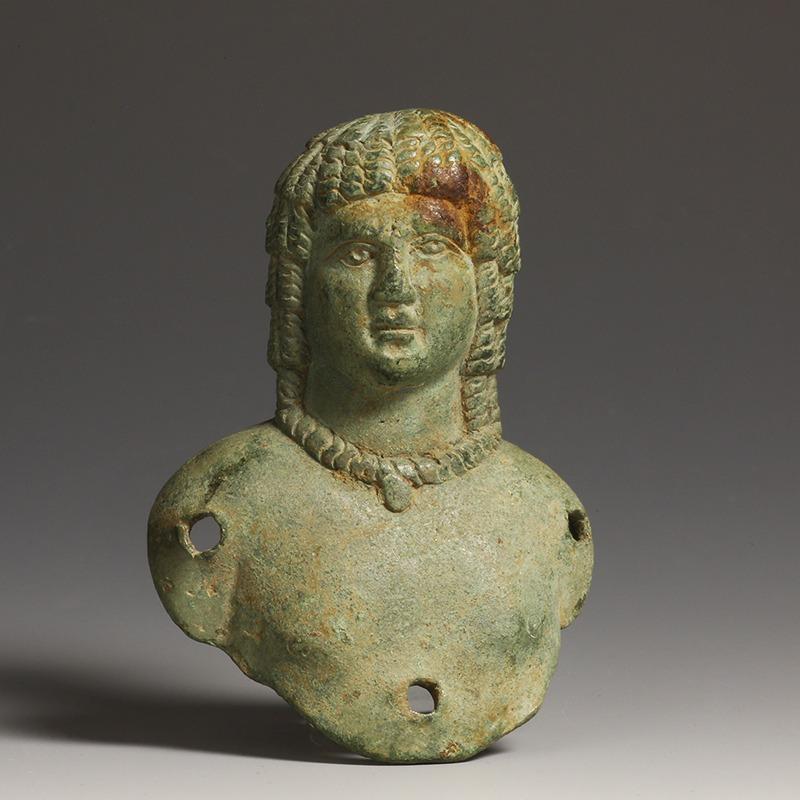 Roman Head of a Greek-Egyptian Male