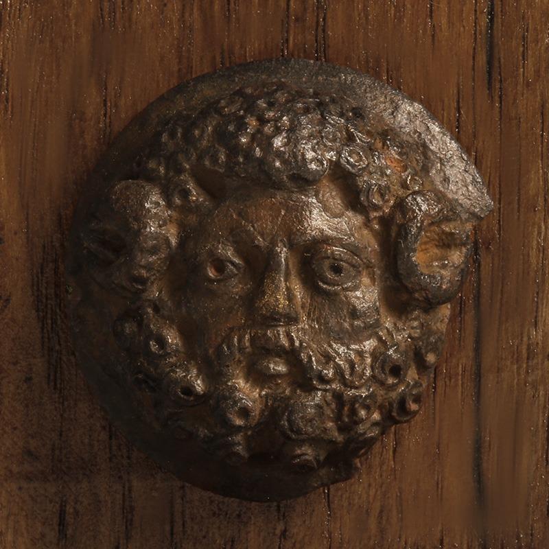 Roman Bronze Zeus-Ammon Appliqué