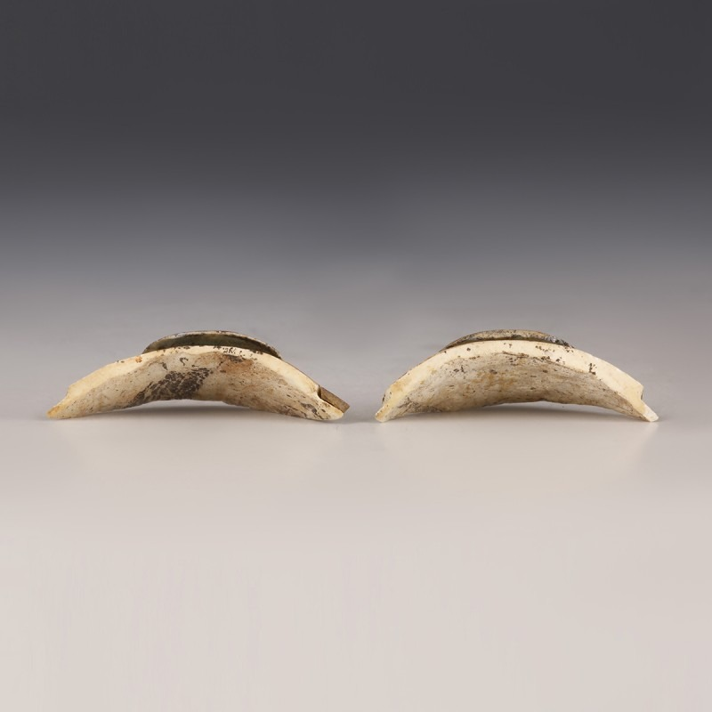 Pair of Egyptian Eye Inlays