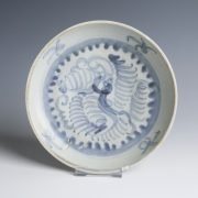 Tek Sing Blue and White Saucer Dish