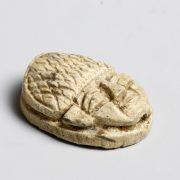 Egyptian Negro Head Scaraboid from the Mustaki Collection