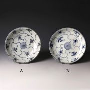 Tek Sing Blue and White Saucer Dishes