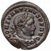 Constantine I Ae. follis (with Mars)