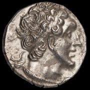 Ptolemy VI Philometor Ar. tetradrachm