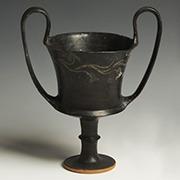 ancient greek pottery kantharos