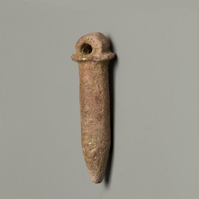 Egyptian Faience Wadj Amulet