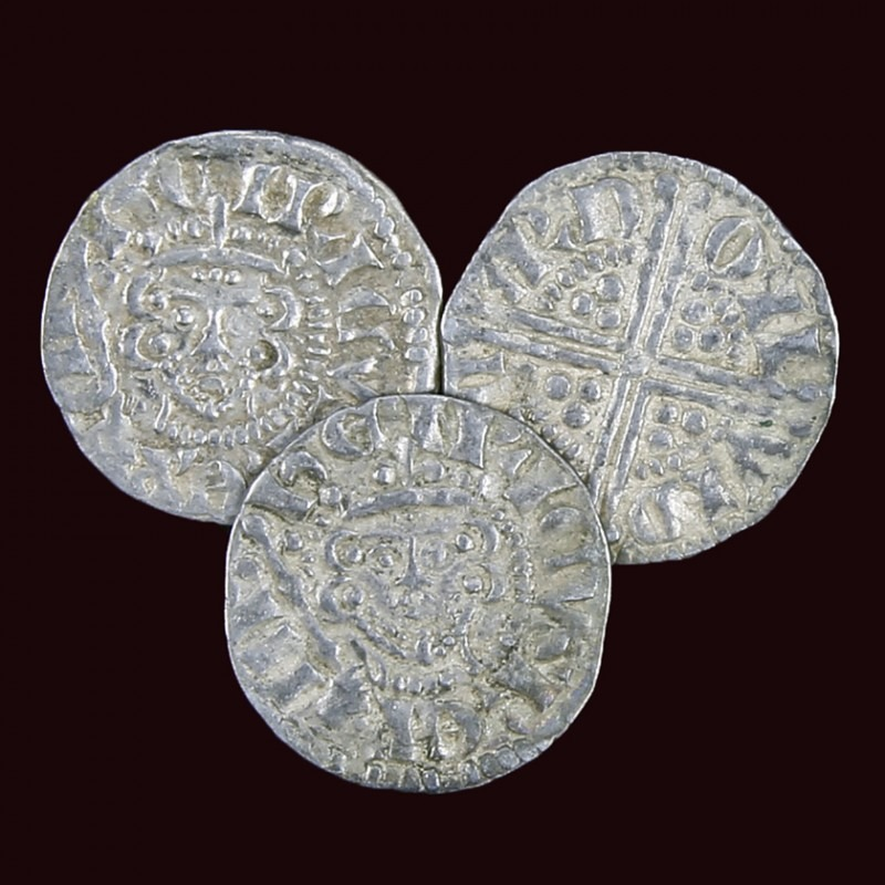 Silver Penny of King Henry III Selection