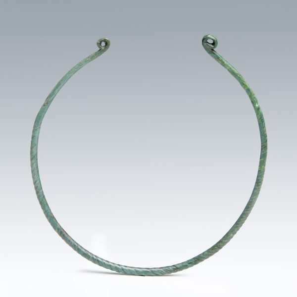 Bronze Age Twisted Neck Torc